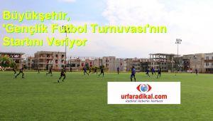 Büyükşehir, 'Gençlik Futbol Turnuvası'nın Startını Veriyor (Videolu)