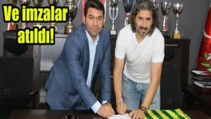 Urfaspor'un yeni hocası imzayı attı