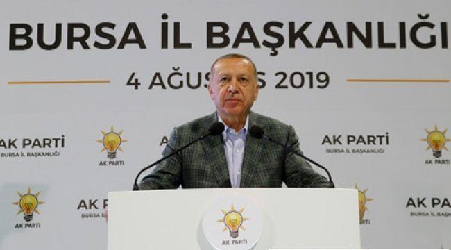 Cumhurbaşkanı Erdoğan; Faizler Düşüyor