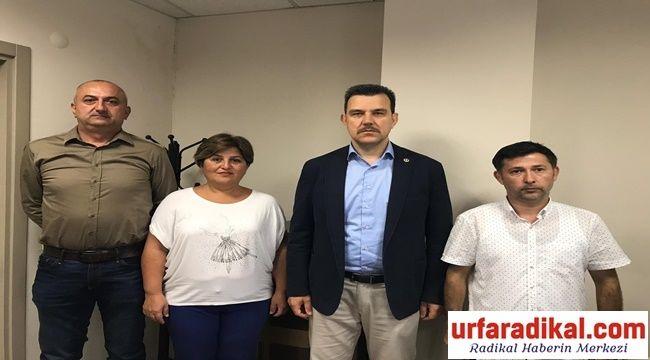 Eytader Ak parti milletvekili Mustafa Esgin'i Ziyaret Etti
