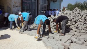 Eyyübiye Belediyesi Ekipleri Arı Gibi Çalışıyor (Video ve Fotoğraflı)