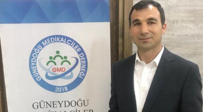 Güneydoğu Medikalciler Derneği Başkanı Ahmet Bulut'tan Bayram Mesajı