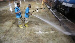 Haliliye Belediyesi'nden, Kurban Kesim Sonrası Yoğun Temizlik (Videolu)