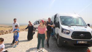 Haliliye Belediyesinden, Göbeklitepe'ye Araç Desteği (Videolu)