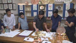 Sanat Sokağı'ndaki Kurslara Yoğun İlgi (Video ve Fotoğraflı)