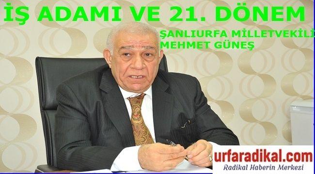 Şanlıurfalı İş Adamı Mehmet Güneş'ten Bayram Mesajı