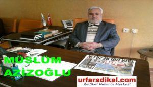 Şıhmüslüm Azizoğlu, Kurban Bayramı Nedeniyle Bir Mesaj Yayınladı