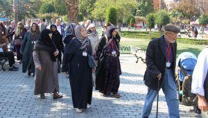 Büyükşehir'den Yaşeren Çınarlara İstanbul Gezisi
