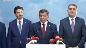 Davutoğlu AK Parti'den istifa etti! (Videolu)