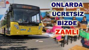 Diyarbakır Belediyesi: Okulun İlk Günü Şehiriçi Ulaşım Ücretsiz