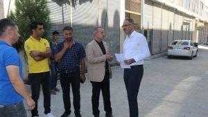 Eyyübiye Belediyesi Hummalı Çalışmasını Sürdürüyor