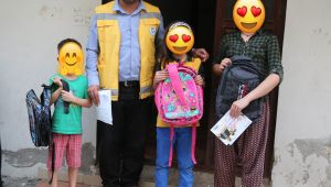 Haliliye Belediyesi'nden Öğrencilere Kırtasiye Yardımı