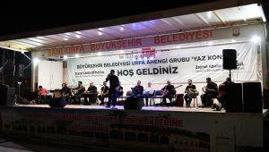 Şanlıurfa'da Yaz Konserine Yoğun İlgi