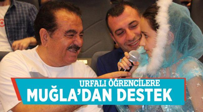 Urfalı öğrencilere Muğla'dan destek