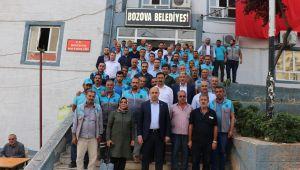 Başkan Aksoy'dan Yemyeşil Urfa Kampanyasına destek geldi