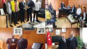 Başkan Bayık, KKTC Başbakanı Ersin Tatar'ı ziyaret etti