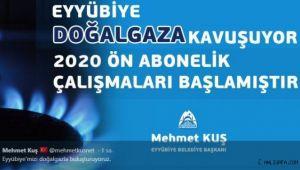 Başkan Kuş: Eyyübiye'mizi doğalgazla buluşturuyoruz