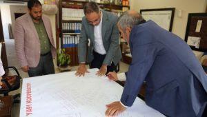 Başkan Kuş, Sanayi Sitesinde Yapılacak Çalışmalar İçin Yerinde İncelemelerde Bulundu.