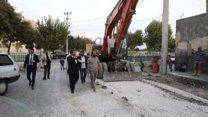 Eyyübiye Belediyesinden 1600 Metrekarelik Semt Pazarı