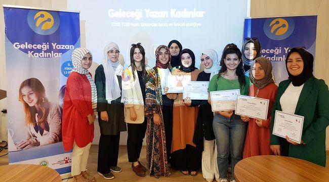 Geleceği Yazan Kadınlar Projesi Şanlıurfa'da Finale Yaklaştı