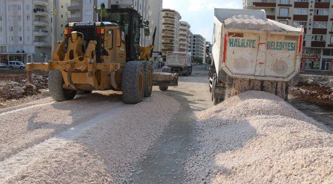 Haliliye Belediyesinden Karşıyaka'da Yeni Yol Yapım Çalışması