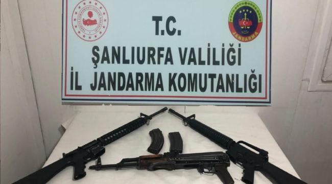 JAndarma Siverek'te Kaçak Silah Yakaladı