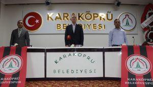 Karaköprü Belediyespor'da Aslan Ve Yönetimi Güven Tazeledi