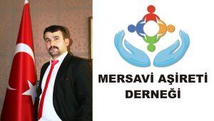 Mersavi Aşireti Derneği, Suriye'de gerçekleştirilen Barış Pınarı Harekatı'na destek verdi.