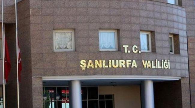 Şanlıurfa Valiliği 30 gün süreyle gösteri ve eylem yasağı getirdi