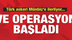 Suriye operasyonu başladı: Türk askeri sınırı geçti!