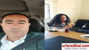 Urfa Bazalt adına Sinem Dişli'ye teşekkür etti