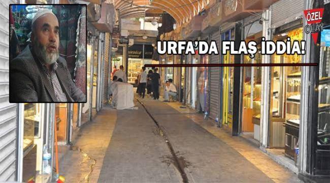 Urfa'da çarşının altında tarihi çarşı mı var?