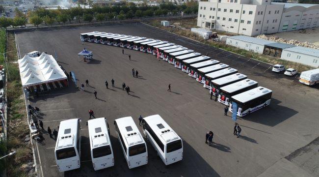 Şanlıurfa Toplu Taşıma Filosuna 27 Otobüs Daha Kazandırıldı