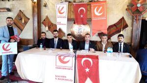 Yeniden Refah Partisi Teşkilatı Basınla Bir Araya Geldi (VİDEO)