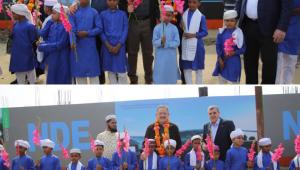 Başkan Beyazgül Bangladeş'te Şanlıurfa Mahallesinin Açılışını Gerçekleştirdi