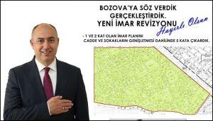 Bozova'da Yeni İmar Planı Tamam