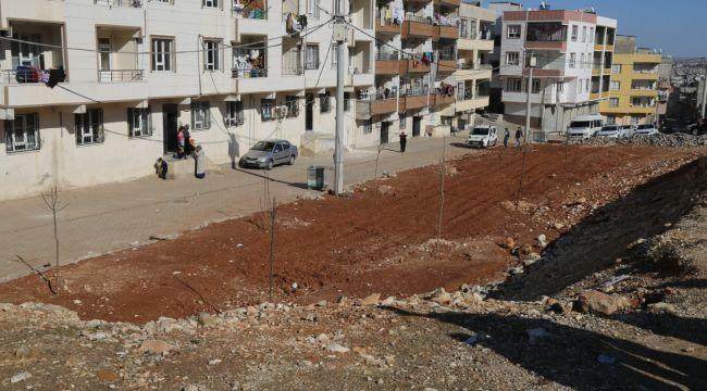 Eyyübiye Belediyesinden 15 Temmuz Mahallesine Yeni Bir Park