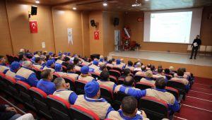 Haliliye'den Temizlik Personeline İş Sağlığı Güvenliği Eğitimi