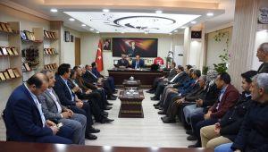 Milletvekil Özcan'dan Başkan Bayık'a ziyaret