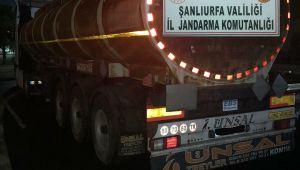 Şanlıurfa Jandarma, 31 bin ton kaçak akaryakıt ele geçirdi