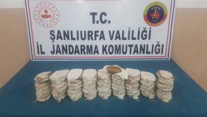 Şanlıurfa Jandarma, On kilo toz esrar ele geçirdi