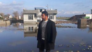 Saygın Köyü Sular Altında, Köylüler Çaresiz