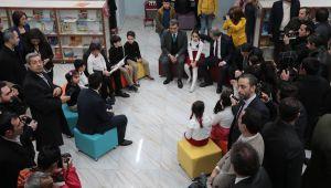 Bakan Yardımcısı Demircan Çocuk Kütüphanesinin Açılışına Katıldı