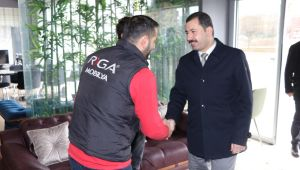 Başkan Baydilli'den Esnafa Ziyaret