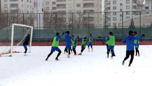 """""""Bugün kar sevincini, Cumartesi galibiyet sevincini yaşayacağız"""""""