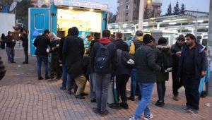 Haliliye, Soğuk Havalarda Vatandaşların İçini Isıtıyor