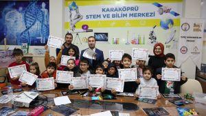 Karaköprü'de Minik Öğrenciler Hünerlerini Sergiledi