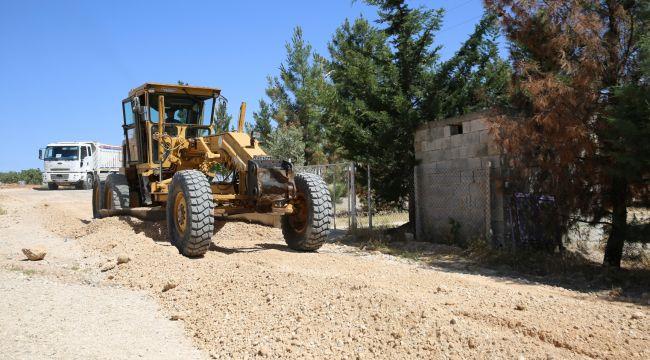 Horzum Mahallesi Tozdan Ve Çamurdan Arındırılıyor