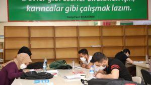 Karaköprü'de Okuma Evleri Yoğun İlgi Görüyor