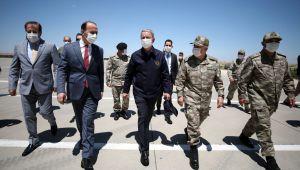 Milli Savunma Bakanı Hulusi Akar ve Kuvvet Komutanları Şanlıurfa'da